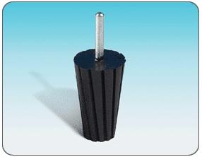 Gumitest kúpos csiszológyűrűkhöz - PAC