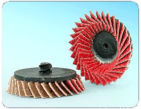 Kerámia szemcsés gyorsrögzítésű, mini lamellástárcsa - FQT
