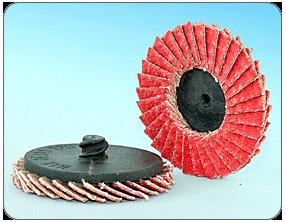 Kerámia szemcsés gyorsrögzítésű, mini lamellástárcsa - FQD